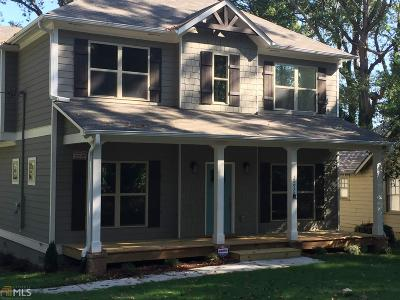 Decatur Single Family Home Under Contract: 2492 White Oak Dr
