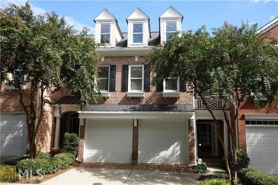 Alpharetta Condo/Townhouse For Sale: 2635 Milford Ln