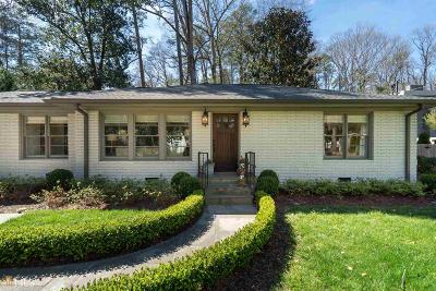 Fulton County Single Family Home For Sale: 2550 Northside Dr