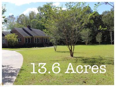 Coweta County Single Family Home For Sale: 484 Lawshe Rd