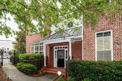 Atlanta Condo/Townhouse For Sale: 5412 Glenridge Cv