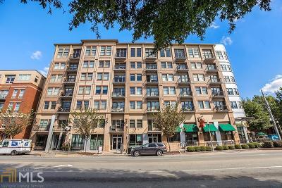 Decatur Condo/Townhouse Under Contract: 201 W Ponce De Leon Ave #601
