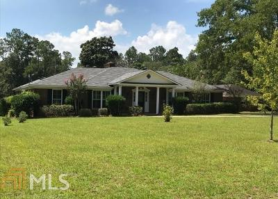 Statesboro Single Family Home For Sale: 1 Country Squire
