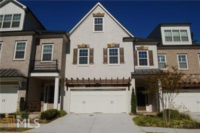 Cobb County Condo/Townhouse For Sale: 3984 Cliffmont Cir