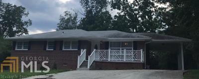 Dekalb County Single Family Home For Sale: 2677 Clairmont Rd