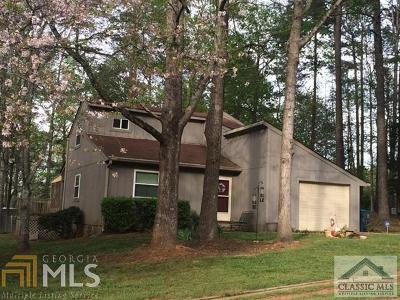 Watkinsville Single Family Home For Sale: 1100 Briarwood Trl