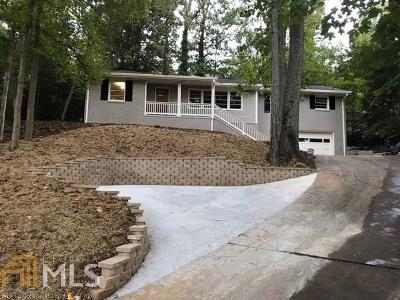 Atlanta Single Family Home New: 895 Starlight Dr