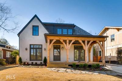 Virginia Highland Single Family Home For Sale: 673 Park Dr