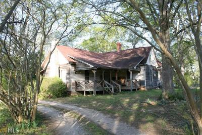 Elbert County, Franklin County, Hart County Single Family Home For Sale: 1206 Nickville Rd