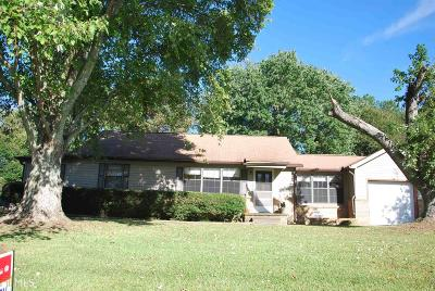 Fulton County Single Family Home For Sale: 6214 Dodson Rd