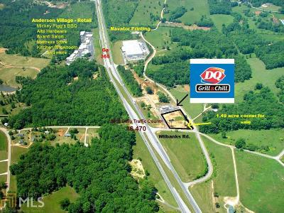 Habersham County Commercial For Sale: 3399 Ga Highway 365