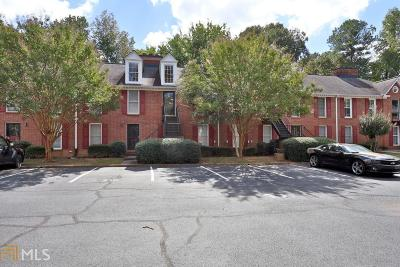 Marietta Condo/Townhouse Under Contract: 1166 Booth Rd #410