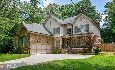 Atlanta Single Family Home For Sale: 3061 Jefferson