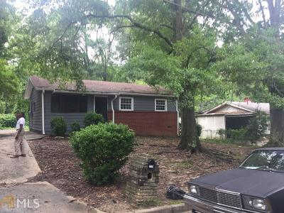 Fulton County Single Family Home For Sale: 2579 Abner Pl
