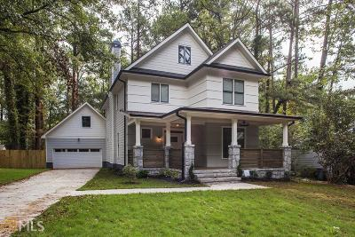 Decatur, Dunwoody, Lithonia, Smoke Rise, Stone Mountain Single Family Home New: 1208 Conway Rd