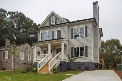 Atlanta Single Family Home New: 1607 Alder St