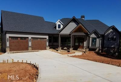 Stephens Single Family Home New: 1282 Currahee Club Dr