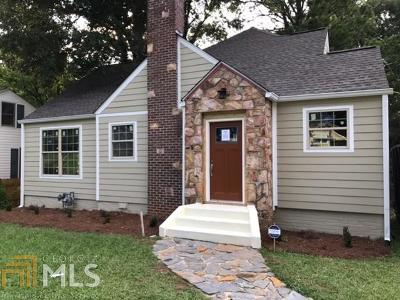 Westview Single Family Home New: 1133 Cahaba Dr