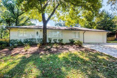 MABLETON Single Family Home New: 605 Hunnicutt Rd