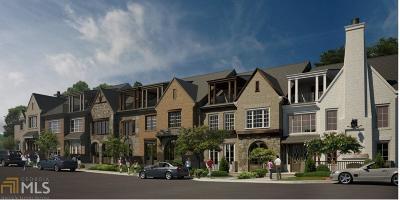 Alpharetta GA Condo/Townhouse New: $735,000