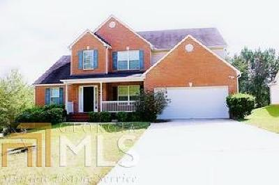 Conyers Single Family Home New: 2275 Grassey Springs Ct