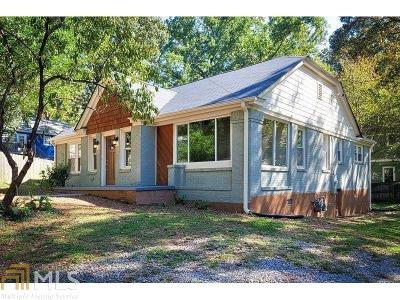 Ormewood Park Single Family Home For Sale: 1021 Sanders Ave