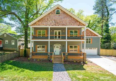 Atlanta Single Family Home New: 2945 Salmon