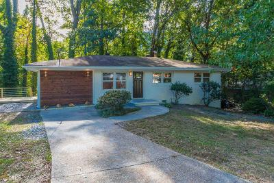 Atlanta Single Family Home New: 1197 Hillwood