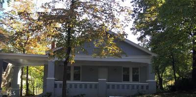 Hapeville Single Family Home For Sale: 3128 Dogwood