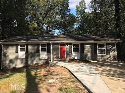 Atlanta Single Family Home New: 2050 SW Niskey Lake Rd