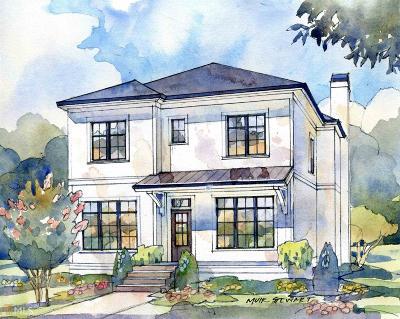 Virginia Highland Single Family Home New: 766 Virginia Cir
