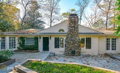 Atlanta Single Family Home New: 2440 Howell Mill Rd Rd