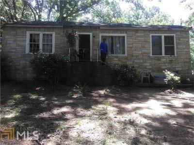 Atlanta Single Family Home New: 3400 Lake Valley Rd