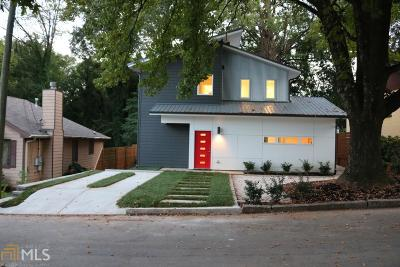 Atlanta Single Family Home New: 1583 New St