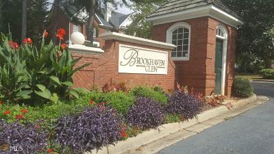 Brookhaven Condo/Townhouse For Sale: 1184 Brookhaven Gln