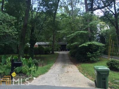 Peachtree Battle Single Family Home Under Contract: 1447 Peachtree Battle Ave