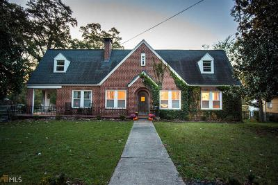 Social Circle Single Family Home New: 346 N Cherokee Rd