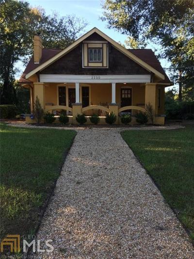Atlanta Single Family Home New: 2230 Bolton Rd