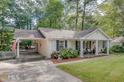 Brookhaven Single Family Home For Sale: 1556 Tryon Rd