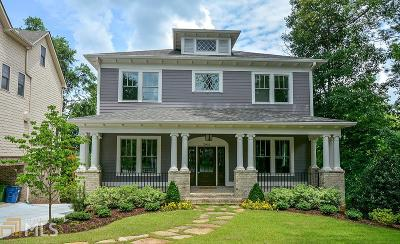 Atlanta Single Family Home New: 2935 Lookout