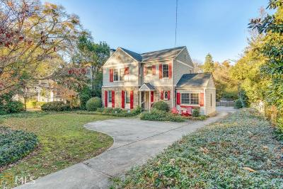 Atlanta Single Family Home New: 399 Collier Rd