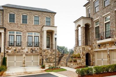 Cobb County Condo/Townhouse For Sale: 5082 Merton Ln