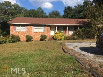 Cobb County Single Family Home Under Contract: 6135 Mableton Pkwy