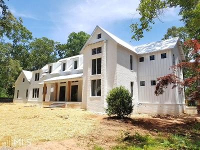 Roswell Single Family Home New: 55 Chaffin Rd #3