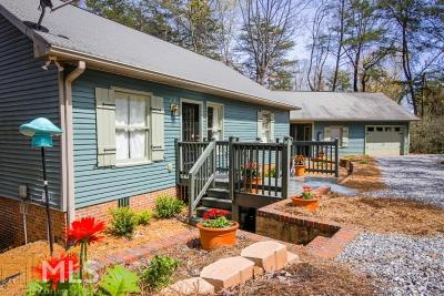 Sautee Nacoochee Single Family Home For Sale: 306 Scenic Dr