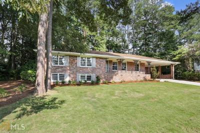 Decatur Single Family Home For Sale: 1663 Deerfield Cir