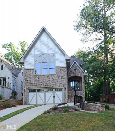 Morningside Single Family Home For Sale: 1393 Lanier Pl