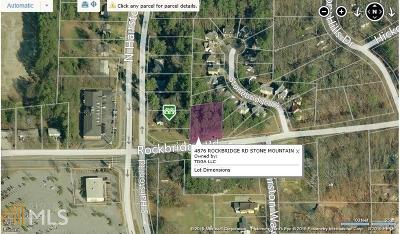 Stone Mountain Commercial For Sale: 4876 Rockbridge Rd