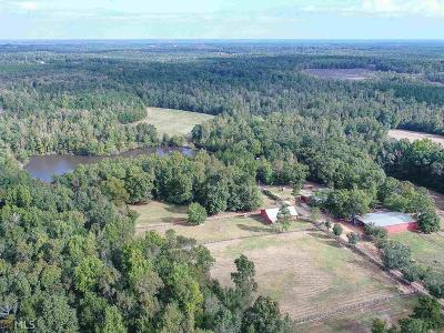 Barnesville Farm For Sale: 1444 Highway 41 S