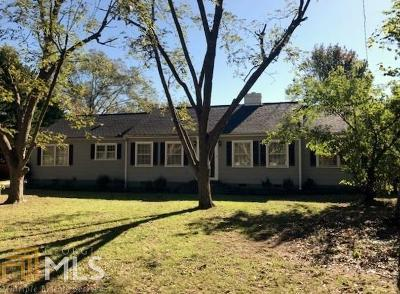 Elbert County, Franklin County, Hart County Single Family Home For Sale: 75 Tucker St